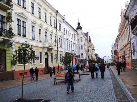 ehemalige Herrengasse in Czernowtiz