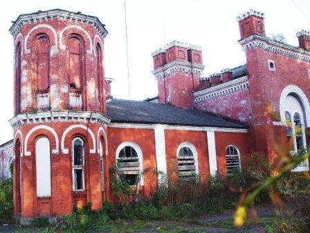ehemaliges Haus des  Wunderrabbis in Sadagora