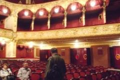 Innenansicht Theater in Czernowitz