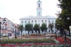 Rathaus in Czernowitz