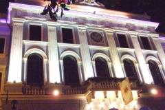 Palasthotel bei Nacht in Czernowitz
